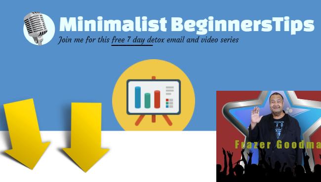Minimalist beginner tips